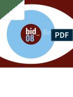 BID08 Catalogo