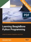 Learning BeagleBone Python Programming - Sample Chapter