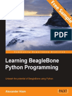 Learning BeagleBone Python Programming - Sample Chapter