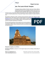 Khajuraho  The Land of Erotic Temples