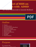 ssis and adhd ppt
