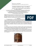 Waardenburg Syndrome Syndrome Type I