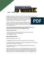 Pipe Creek Storyline