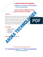 Indirect Vector Control of Induction Motor Using Fuzzy Logic Controller