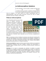 Biología - Métodos Anticonceptivos Químicos