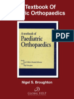a Textbook of Paediatric Orthopaedics