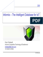 Informix - The Intelligent Database for IoT