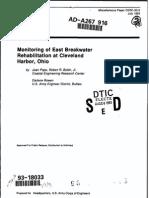 Monitoring Breakwaters