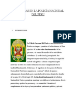 Jerarquías en La Policía Nacional Del Peru