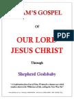 Adam's Gospel of Jesus Christ