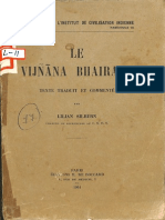 Le Vijanana Bhairava 1961 - Lilian Silburn