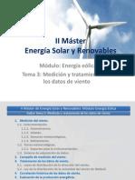 II Master Energía Solar y Renovables-T3_Medición y Tratamiento de Los Datos Viento