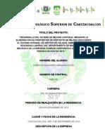 Proyecto Mejora Continua 03-09-14