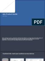 Facebook Ads Product Guide