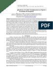 Socio-Political Implications of Youth Unemployment on Nigeria's Economic Development