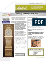 Mini Grandfather Clock Project Tutorial