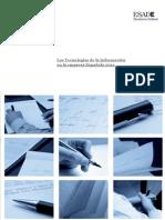 Informe Las T. de La I. en La Empresa Espanola 2012
