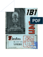 1943 - Libro Oficial de Fiestas de Moros y Cristianos de Ibi
