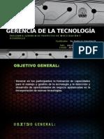 Gerencia de La Tecnología Clase Introduccion