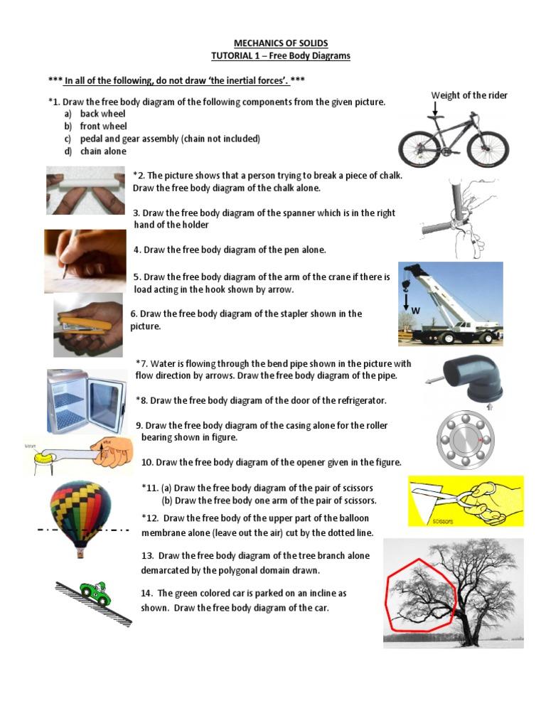Assignment 1 Force Mechanics