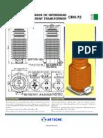 Current Transformer 72kv