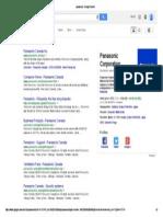 Panasonic - Google Search