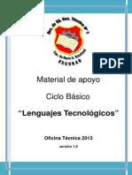 Apunte LENGUAJES TECNOLOGICOS