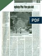 Doanh nghiệp Phú Yên gắn kết