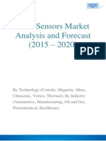 Flow Sensors Market Cross $8.49 Billion By 2020 With Development of New Technologies