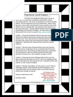 Emotion Card Activity PDF4