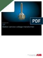 TT 110kV Pentru Servicii Interne Statii