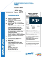 2014.11.18 MAPEI - Seminario