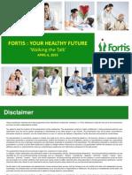 0.63433000 1431521300 Investor Presentation Fortis Investor Day April6 2015