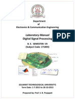 DSP Lab Manual GEC Dahod 1
