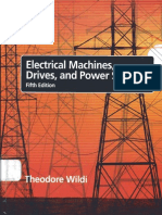 Electrical Machines, Drives, And Power Systems - Theodore Wild