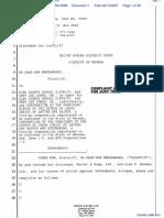 Manzanares v. Elko County School District et al - Document No. 1