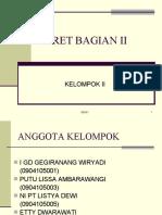 DERET BAGIAN II