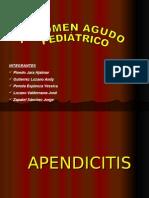 Abdomen Agudo Pediatrico