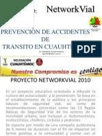 Networkvial en la Delegaci´´on Cuauhtemoc en el Distrito Federal, Mexico