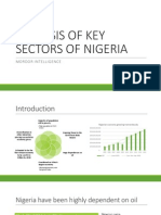 Analysis of Key Sectors of Nigeria