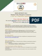 Announcement for DICEbvr-InVENT 2014