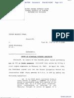 Evans v. Crosby et al - Document No. 4