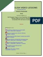 Free English Video Lessons