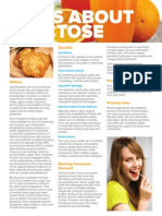 Brochure - Facts About Fructose