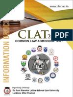 CLAT-2015 Information Brochure