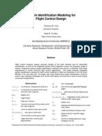 3 - System Identification Modeling for Flight Control System-(Christina M. Ivler)
