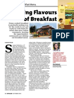 Research on Retailer daily meal in morning