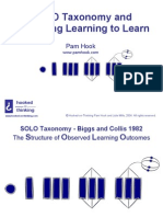 solo taxonomy and assessing learning to learn