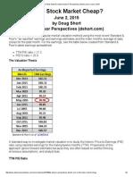 2015 0602 - Is the Stock Market Cheap_ _ Advisor Perspectives (Dshort