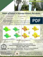 Status of Forest in Shimoga District, Karnataka